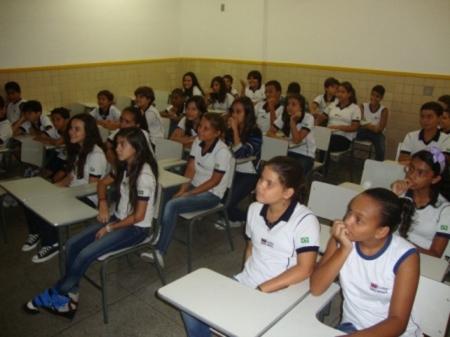 AULA INAUGURAL DE EDUCAÇÃO FÍSICA 7° ANO – TARDE PEC – UNIDADE TAQUARA