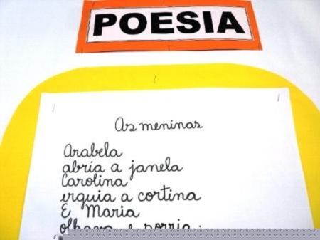 "POEMA ""AS MENINAS"" ENSINO FUNDAMENTAL I – 3º ANO – TARDE"