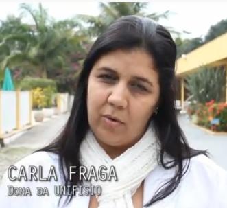 Onde está a ex-aluna Carla Fraga?