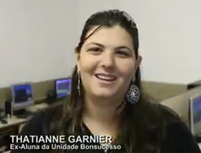 Onde está a ex-aluna Thatianne Garnier?
