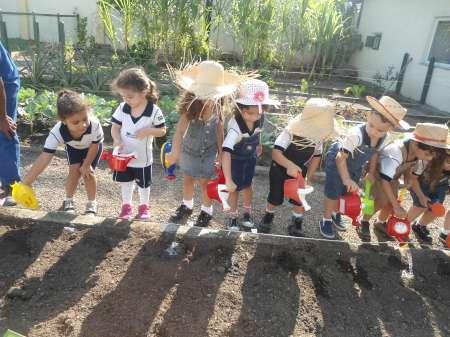 HORTA – EDUCAÇÃO INFANTIL – PARTE 2 – SÃO GONÇALO