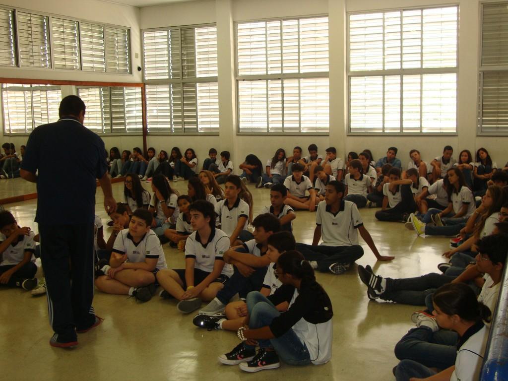 AULA INAUGURAL DE EDUCAÇÃO FÍSICA – 2281 E 2282 – TAQUARA