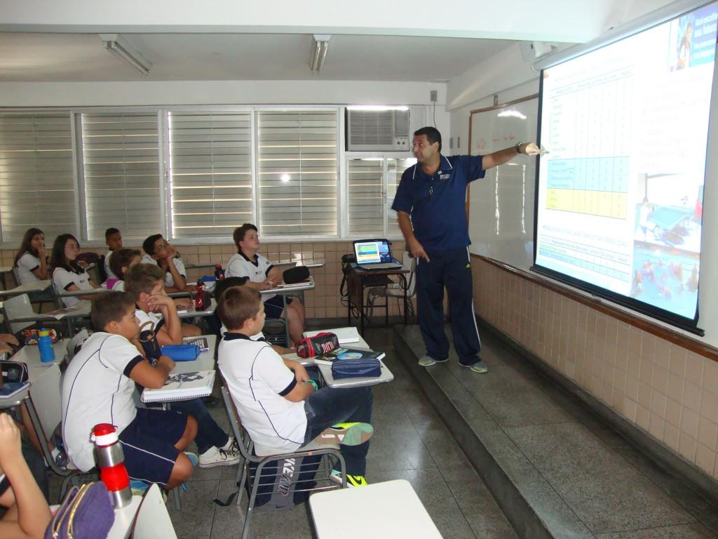 AULA INAUGURAL DE EDUCAÇÃO FÍSICA – 2261 – TAQUARA