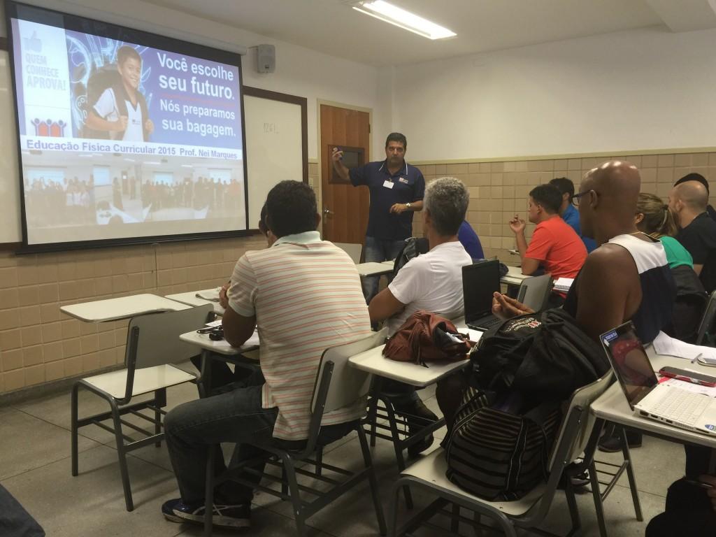 TREINAMENTO DOS PROFESSORES-EDUCAÇÃO FÍSICA-BONSUCESSO