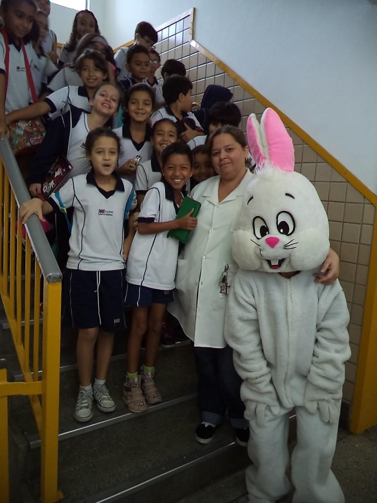 VISITA DO COELHO – EDUCAÇÃO INFANTIL E ENSINO FUNDAMENTAL I – TARDE – TAQUARA