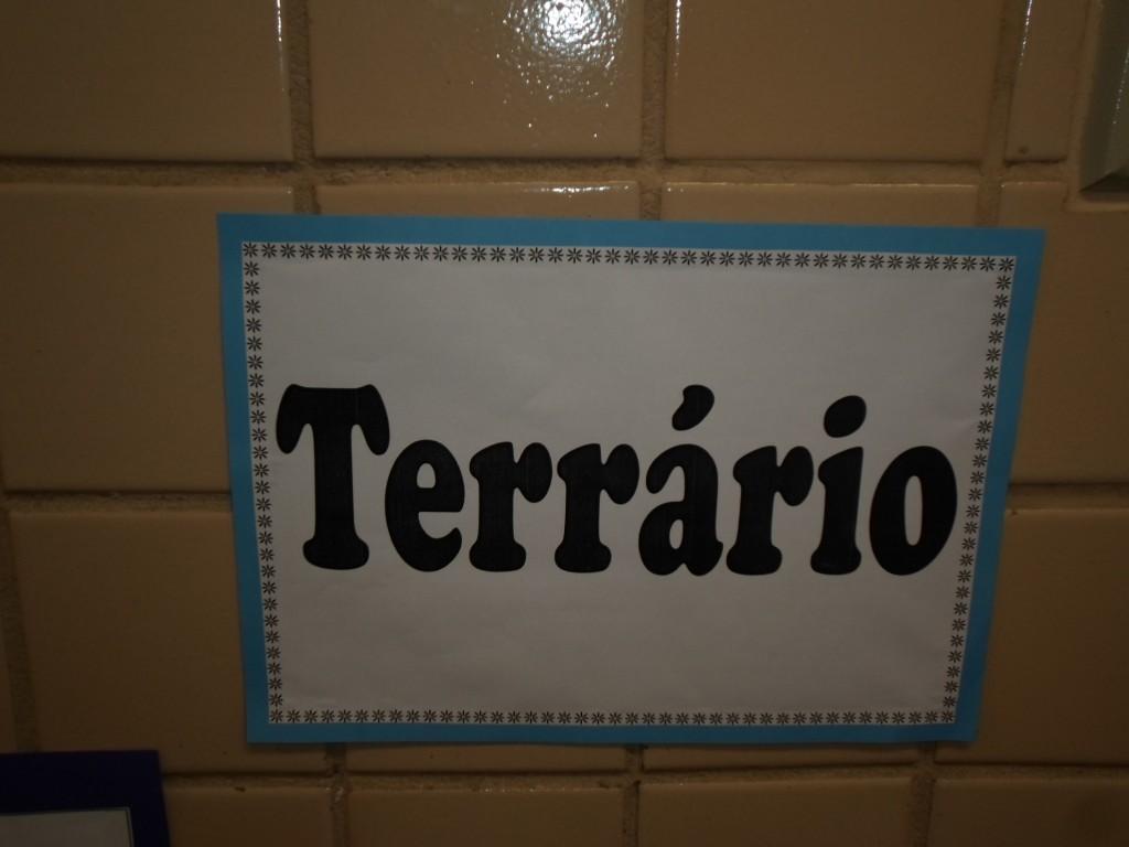 TERRÁRIO ENSINO FUNDAMENTAL I – 2º ANO – TARDE – TAQUARA