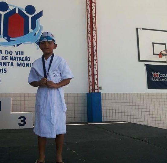 ALUNO LUIZ EDUARDO BRITES – NATAÇÃO – SÃO GONCALO