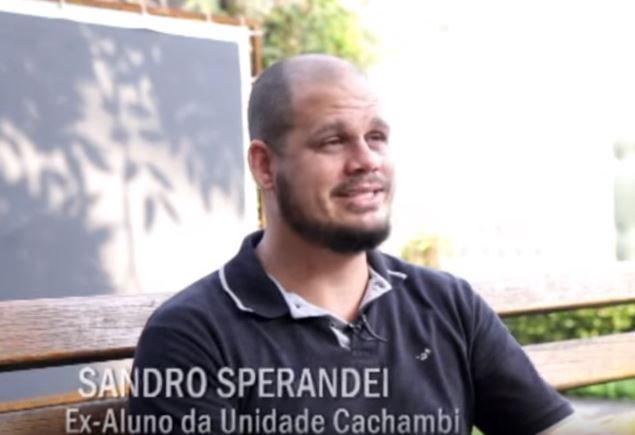 Onde está o ex-aluno Sandro Sperandei?