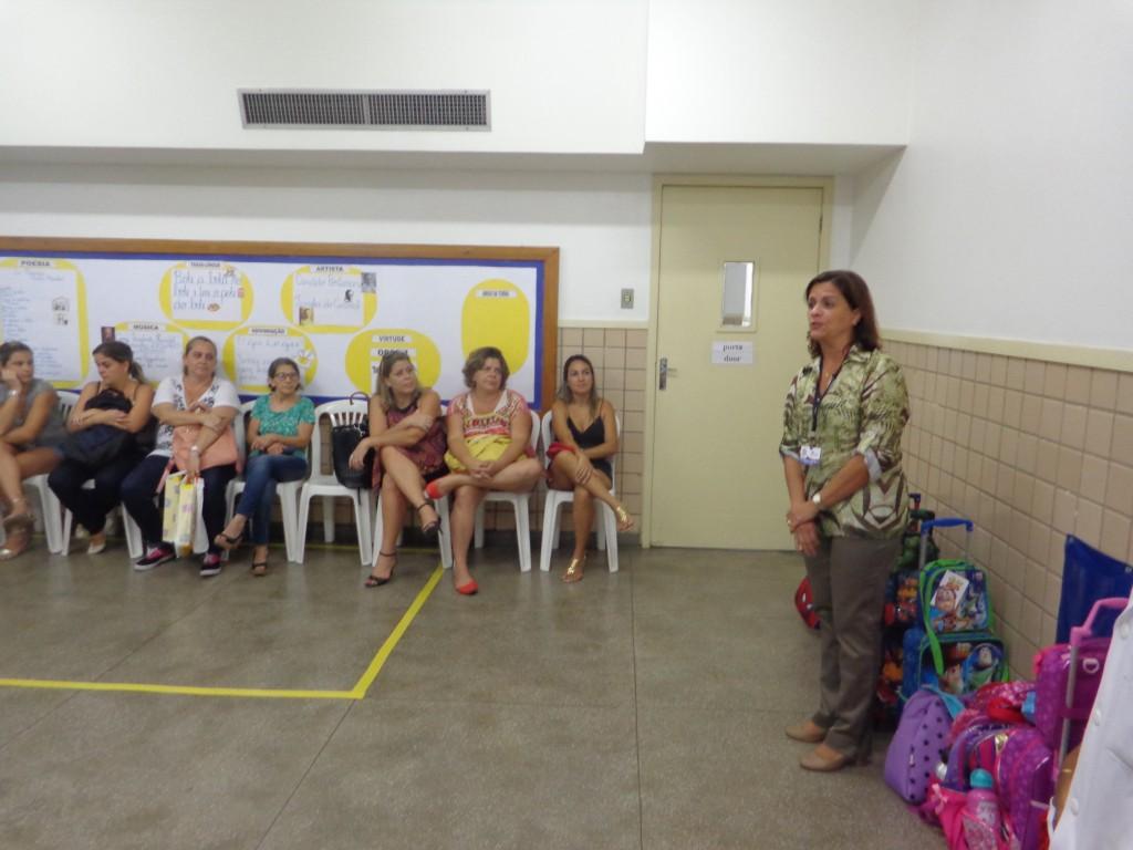REUNIÃO PEDAGÓGICA – 1º BIMESTRE – ED. INFANTIL – CACHAMBI