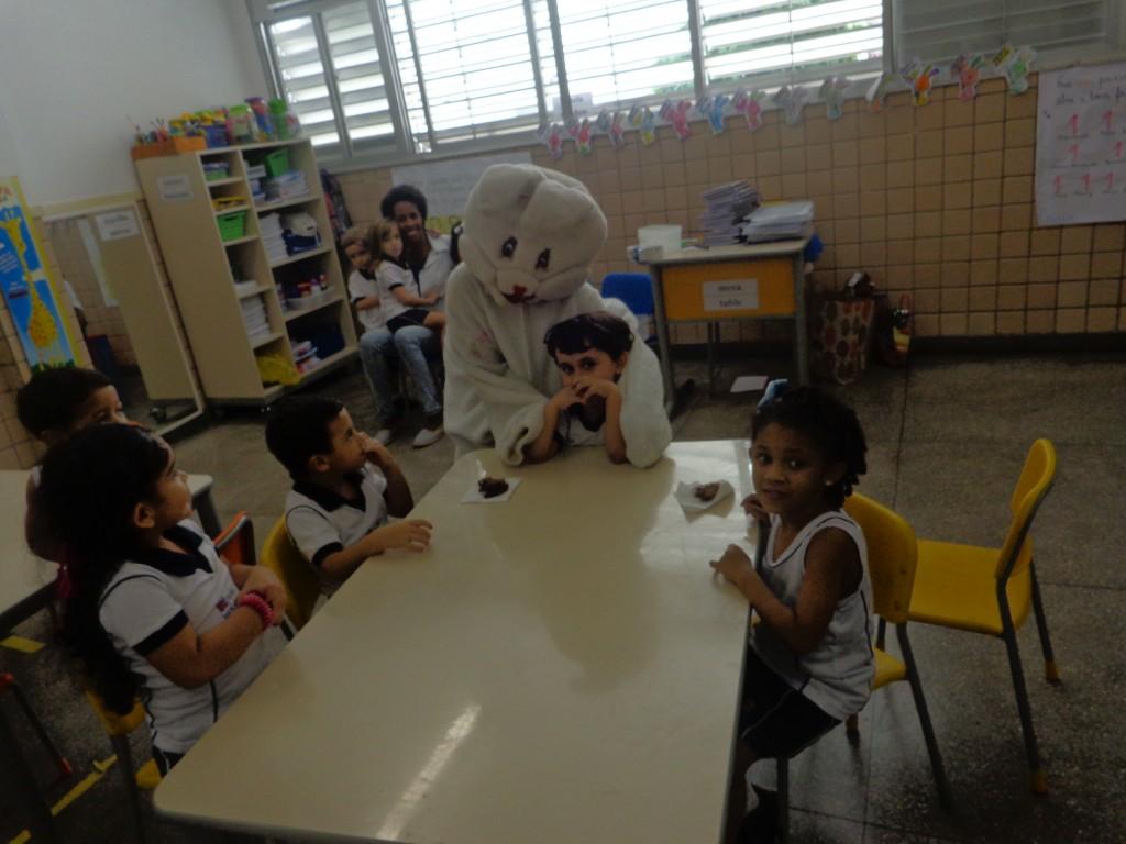VISITA DO COELHO – EDUCAÇÃO INFANTIL – MANHÃ E TARDE – CACHAMBI