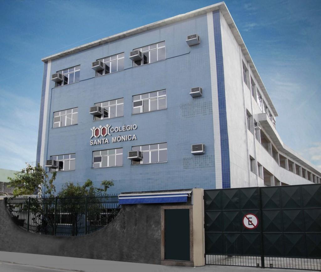 fachada-colegio-em-sao-goncalo-santa-monica