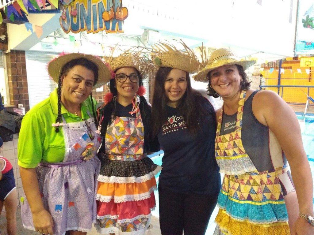 COLÉGIO SANTA MÔNICA – FESTA JUNINA AQUÁTICA 2017 – EXTRACLASSE – BONSUCESSO