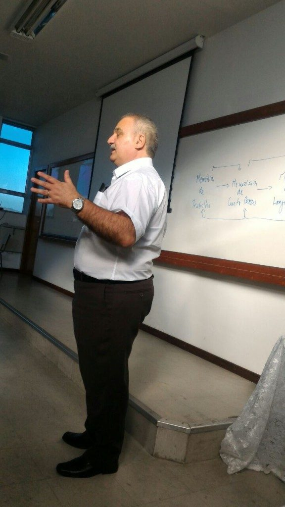 COLÉGIO SANTA MÔNICA – VISITA DO Dr. AIRTON POZO – PRÉ-VESTIBULAR – SÃO GONÇALO