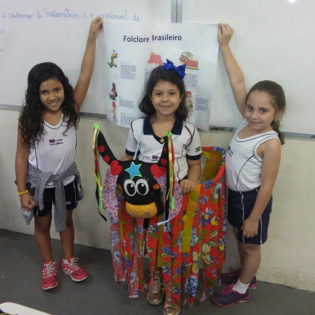 COLÉGIO SANTA MÔNICA – TRABALHANDO O FOLCLORE – 1° CT – SÃO GONÇALO