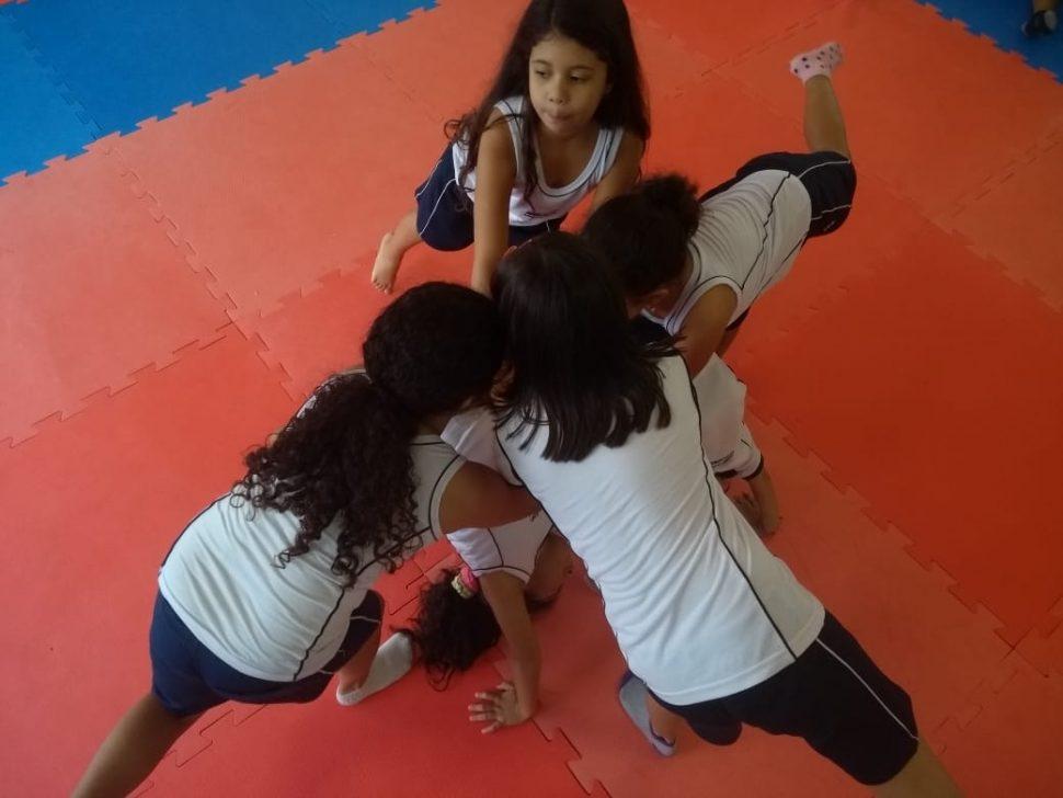 COLÉGIO SANTA MÔNICA – AULA DE EDUCAÇÃO FÍSICA – 2º ANO (M) – SÃO GONÇALO