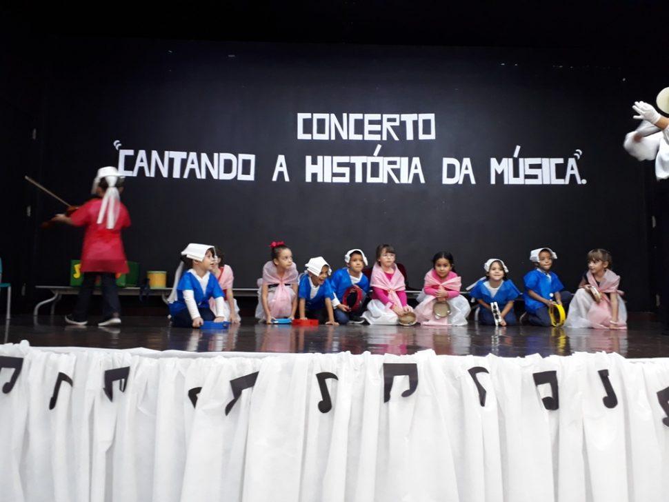 COLÉGIO SANTA MÔNICA – CONCERTO CANTANDO A HISTÓRIA DA MUSICA –MAT I AT; MAT II AT; PRÉ I AT E PRÉ II AT – BONSUCESSO