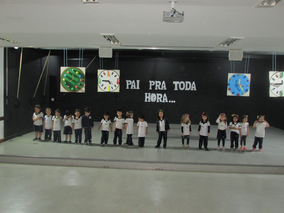 COLÉGIO SANTA MÔNICA – DIA DOS PAIS – MAT II (T) – TAQUARA